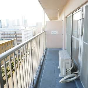 木場サニータウン1号棟(9階,3499万円)のバルコニー