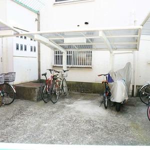 グリーンキャピタル神楽坂の駐輪場