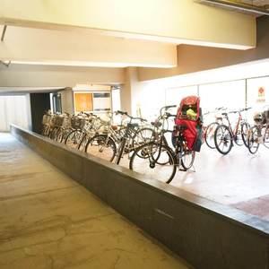 ストークマンション新宿の駐輪場