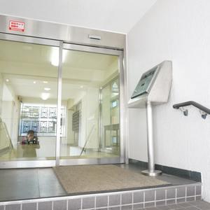ライオンズマンション南平台の入口・エントランス