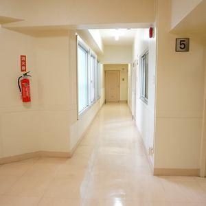 ライオンズマンション南平台(5階,)のフロア廊下(エレベーター降りてからお部屋まで)