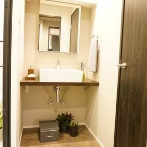 ライオンズマンション南平台(5階,5980万円)の化粧室・脱衣所・洗面室