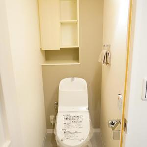 トーキョーオーディアム日本橋浜町(2階,)のトイレ