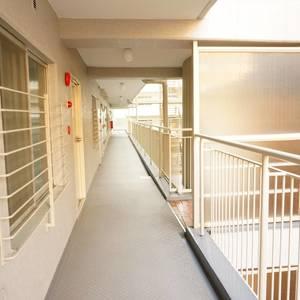 神楽坂ハウス(4階,)のフロア廊下(エレベーター降りてからお部屋まで)