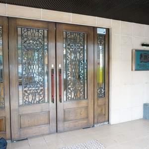 ライオンズシティ九段のマンションの入口・エントランス
