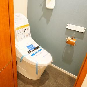 ファミール東銀座グランスイートタワー(2階,)のトイレ