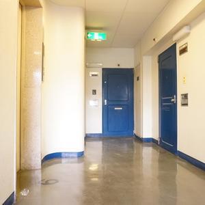 秀和第2築地レジデンス(9階,)のフロア廊下(エレベーター降りてからお部屋まで)