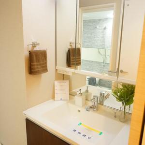 リバーシティ日本橋(6階,5498万円)の化粧室・脱衣所・洗面室