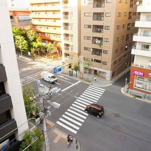 リバーシティ日本橋(6階,5498万円)のお部屋からの眺望
