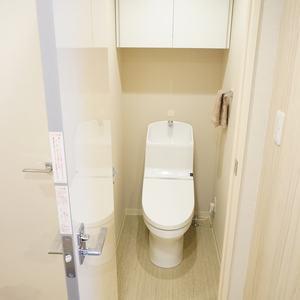 ライオンズヴィアーレ幡ヶ谷(4階,)のトイレ