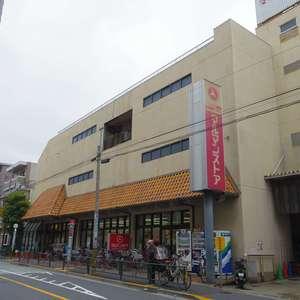 コーポ中野の周辺の食品スーパー、コンビニなどのお買い物
