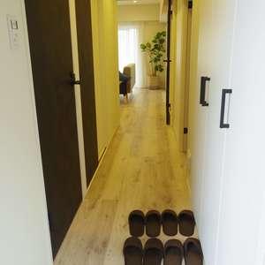 コーポ中野(4階,4490万円)のお部屋の玄関