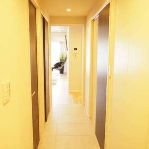サンビューハイツ渋谷(6階,7380万円)のお部屋の廊下
