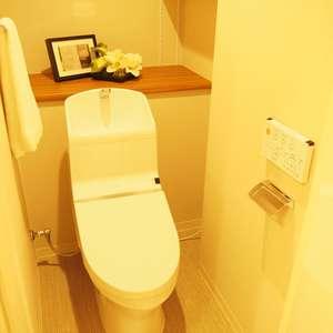 サンビューハイツ渋谷(2階,6280万円)のトイレ