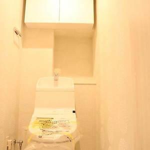 ブランズ文京本駒込(13階,)のトイレ