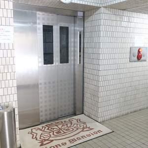 ライオンズマンション錦糸町第5のエレベーターホール、エレベーター内