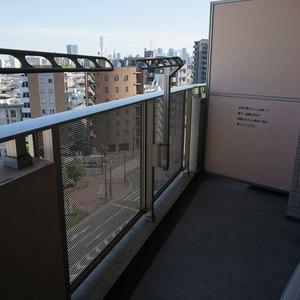 ラシュレ池袋椎名町(9階,)のバルコニー