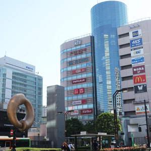 コスモ錦糸町グランシティの周辺の食品スーパー、コンビニなどのお買い物