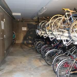 コスモ錦糸町グランシティの駐輪場