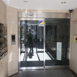 コスモ錦糸町グランシティのマンションの入口・エントランス
