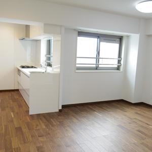 中野パークハウス(8階,)の居間(リビング・ダイニング・キッチン)