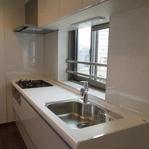 中野パークハウス(8階,)のキッチン