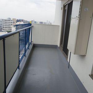 中野パークハウス(8階,)のバルコニー