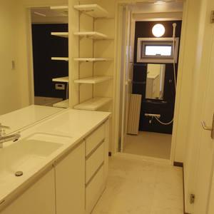 中野パークハウス(8階,)の化粧室・脱衣所・洗面室