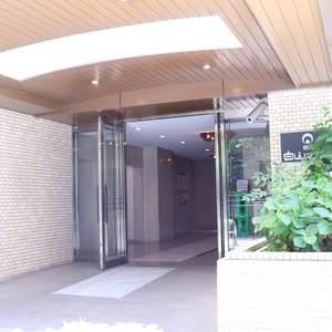 朝日白山マンションのマンションの入口・エントランス