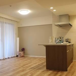 コスモ錦糸町グランシティ(4階,4680万円)の居間(リビング・ダイニング・キッチン)