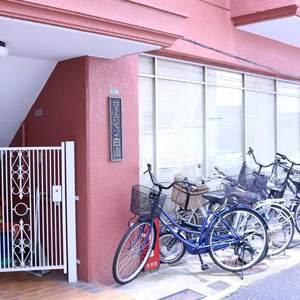 ウェルシャン白山の駐輪場