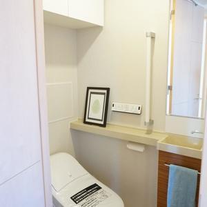 ラシュレ池袋椎名町(12階,)のトイレ