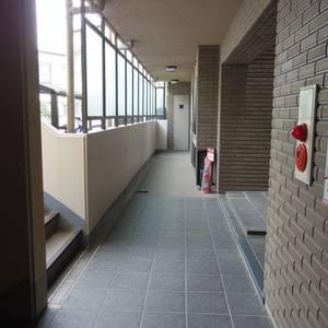 スターロワイヤル中野(1階,6580万円)のフロア廊下(エレベーター降りてからお部屋まで)