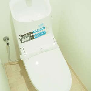 常盤松葵マンション(6階,)のトイレ