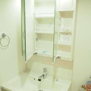 常盤松葵マンション(6階,2800万円)の化粧室・脱衣所・洗面室