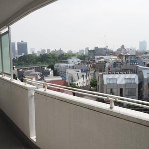 シャトー青山第3(7階,)のバルコニー