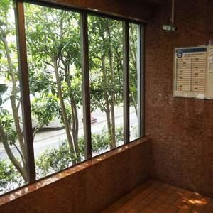シャトー青山第3のエレベーターホール、エレベーター内