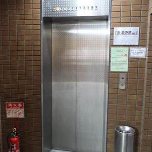 グリーンパーク新向島のエレベーターホール、エレベーター内