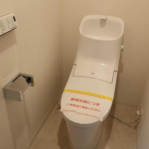 グリーンパーク新向島(7階,)のトイレ