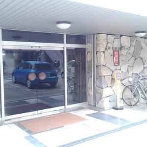 椎名町マンションのマンションの入口・エントランス