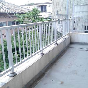 椎名町マンション(3階,3490万円)のバルコニー