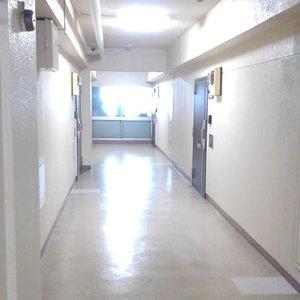 豊島ハイツ(10階,)のフロア廊下(エレベーター降りてからお部屋まで)