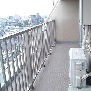 豊島ハイツ(10階,)のバルコニー