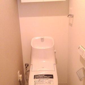 豊島ハイツ(10階,)のトイレ