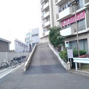 豊島ハイツの駐車場