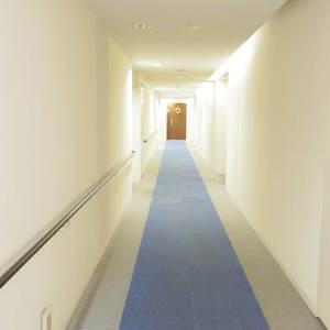 Dクラディア中野(2階,)のフロア廊下(エレベーター降りてからお部屋まで)