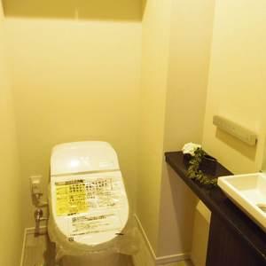 ザパークハウス中野タワー(16階,)のトイレ
