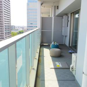 ザパークハウス中野タワー(16階,8980万円)のバルコニー