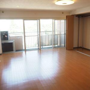 信濃町ハイム(8階,4130万円)の居間(リビング・ダイニング・キッチン)