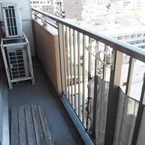 信濃町ハイム(8階,4130万円)のバルコニー